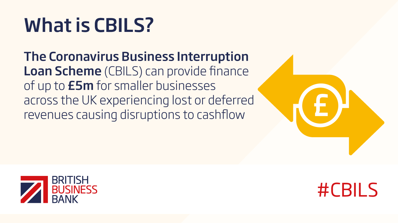 CBILS can provide finance of up to £5m for smaller business